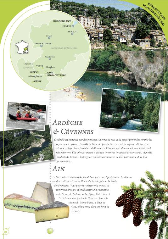 Traduction en 4 langues (anglais, allemand, néerlandais et espagnol) d'un catalogue de locations de vacances