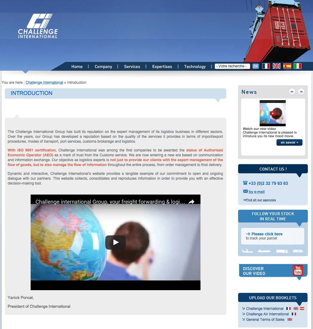 Atenao gère les besoins en traduction de Challenge International