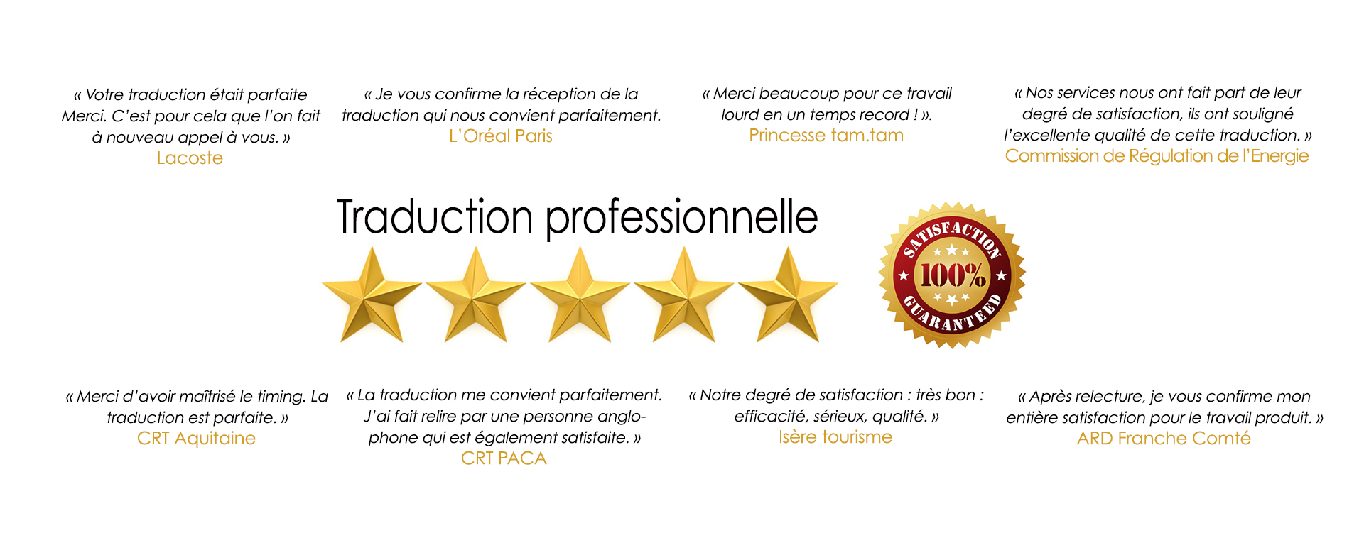 traduction professionnelle