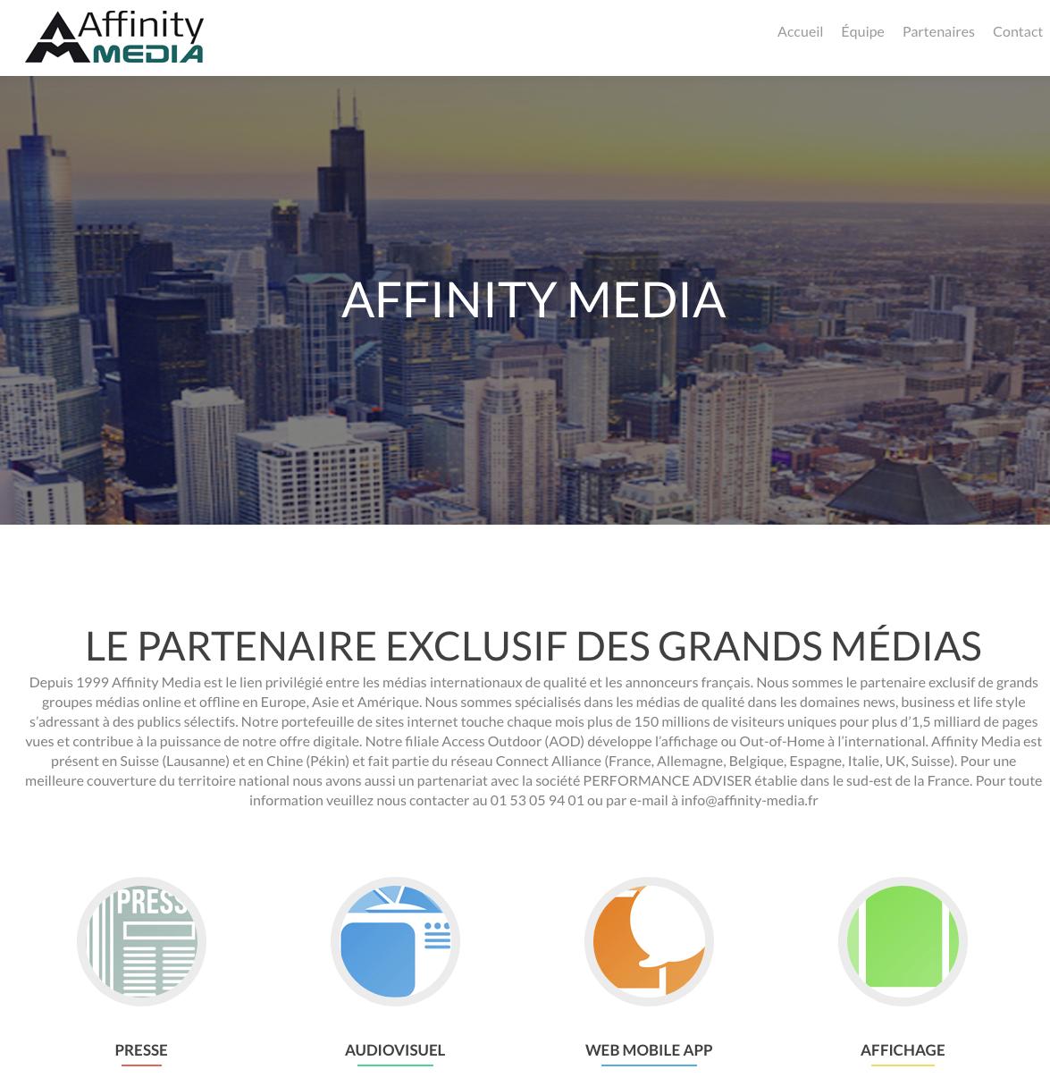 Traduction multilingue pour Affinity Média