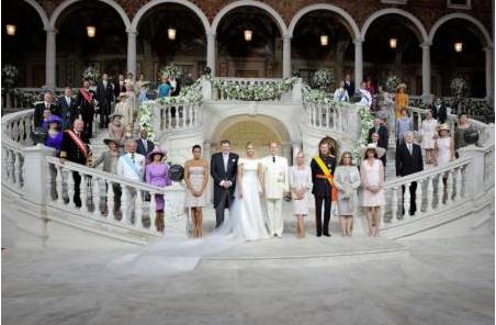 Mariage princier à Monaco