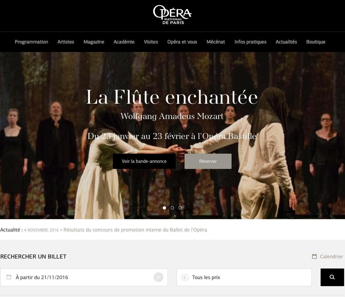 Traduction juridique pour l'Opéra national de Paris