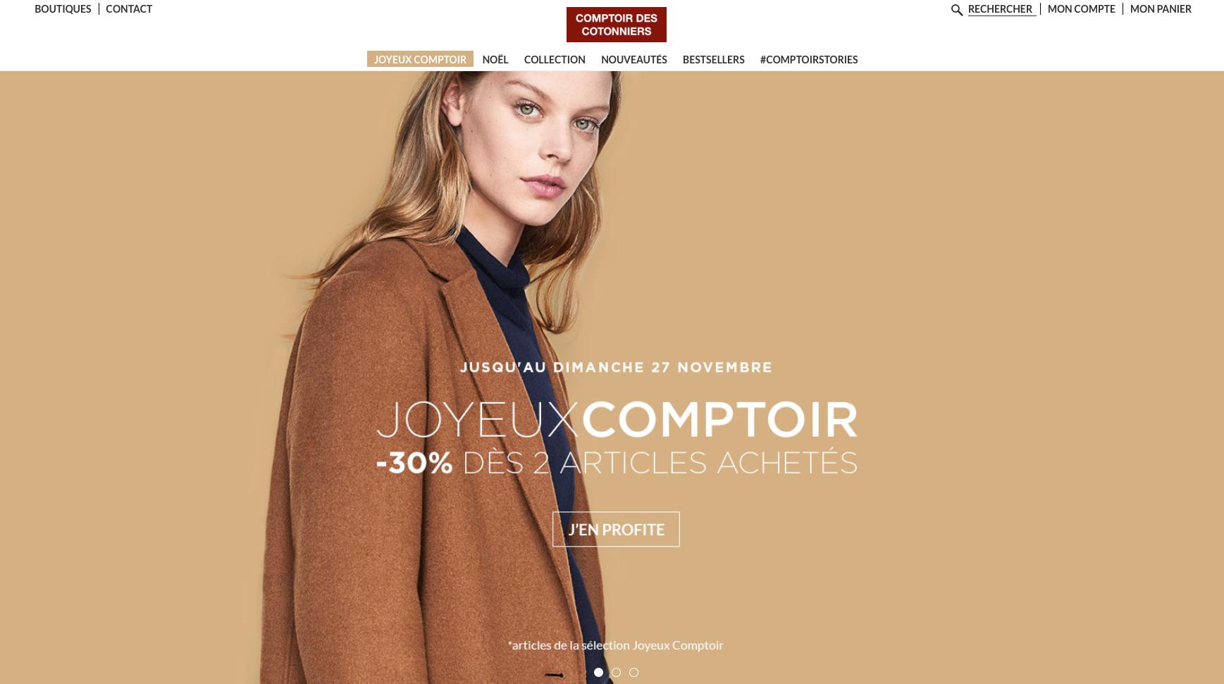 Traduction lingerie Comptoir des Cotonniers