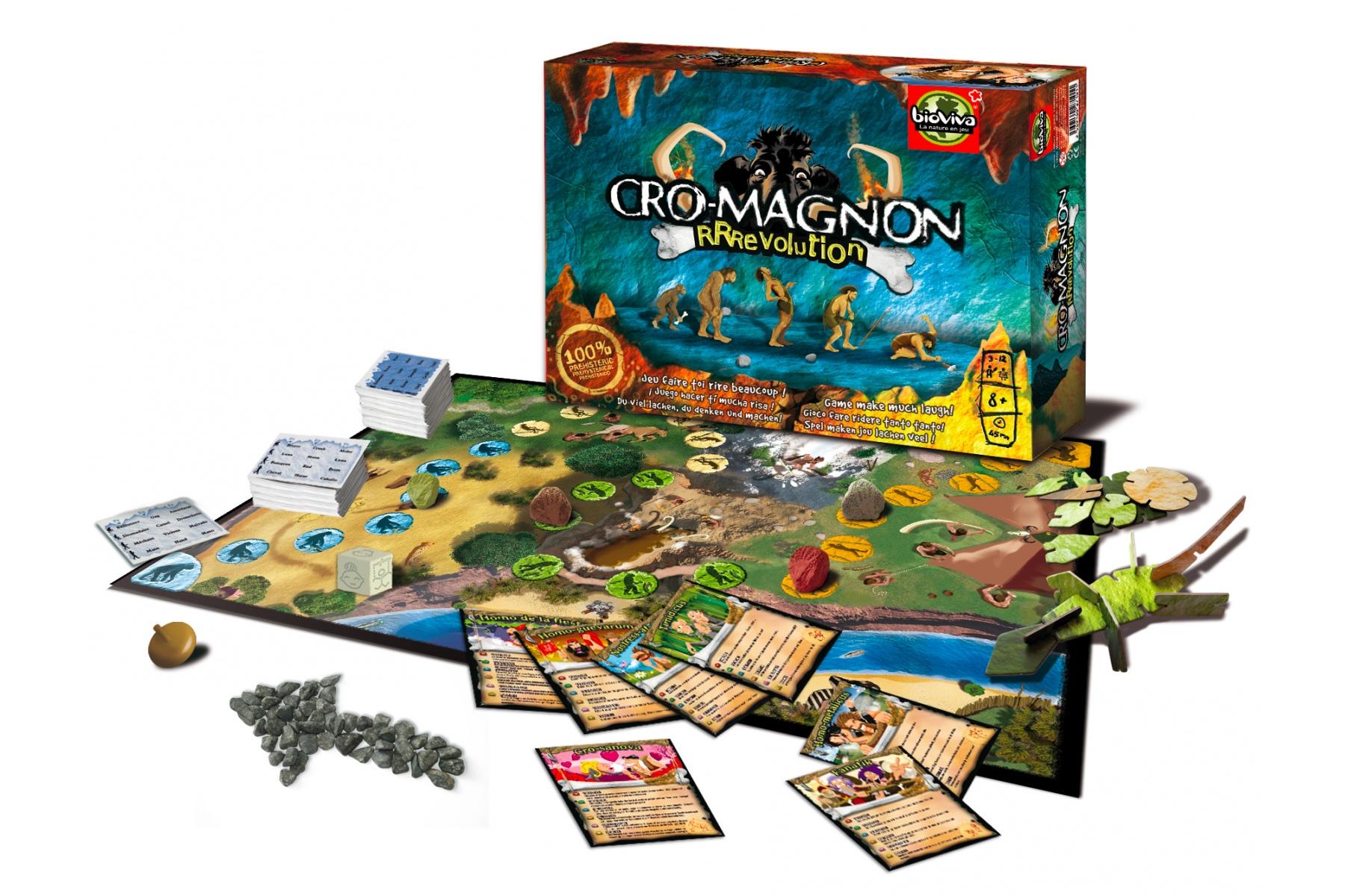 Localisation du jeu de socié Cro-Magnon