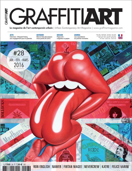 Traduction du magazine Graffiti Art