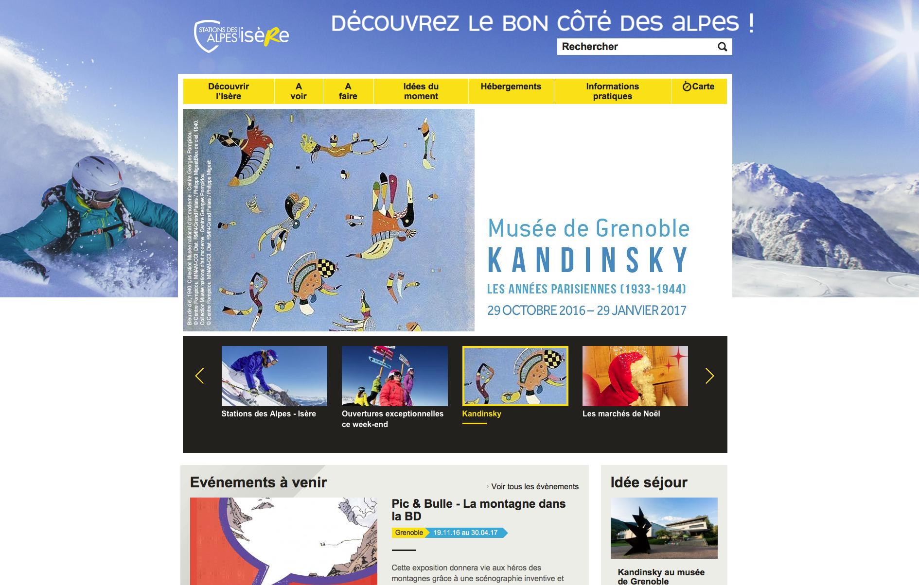 Traduction touristique pour le CDT de l'Isère