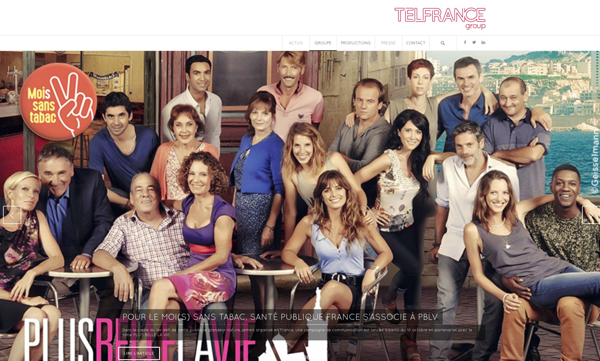 Traduction français anglais pour Telfrance
